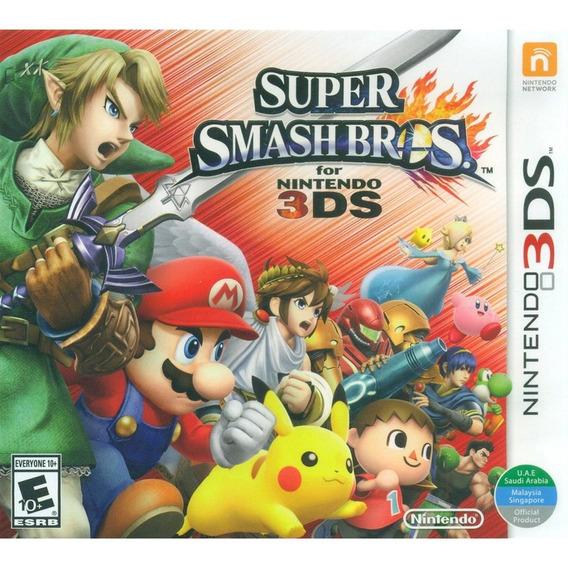 Super Smash Bros - 3ds Lacrado