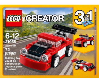 Lego Creator 3 En 1 31055 Red Racer / Auto Deportivo Rojo