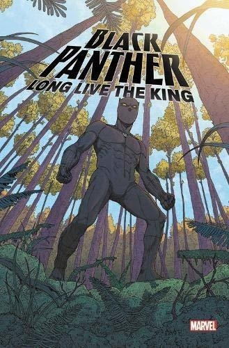 Pantera Negra Viva El Rey Maravilla Estreno Novela Grafica