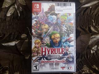 Hyrule Warriors Definitive Edition/nintendo Switch / Sellado