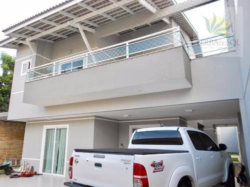 Imagem 1 de 30 de Casa Duplex Com 248m² E Terreno 12x30 Na Sapiranga - Ca0679