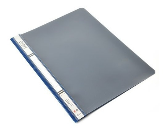 Carpeta Base Opaca A4 Plastica Tapa Cristalx10 Broche Nepaco