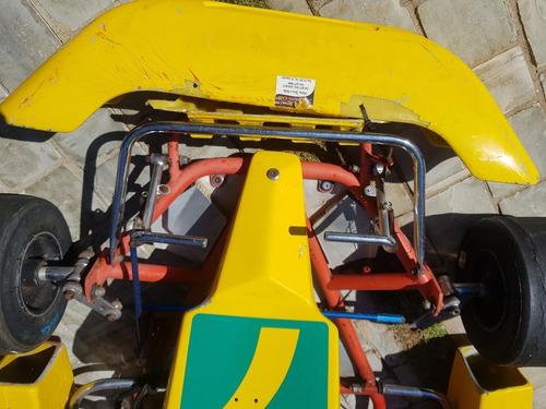 Kart - Chassi 2007, Para Criança - Motor Honda Semi Novo