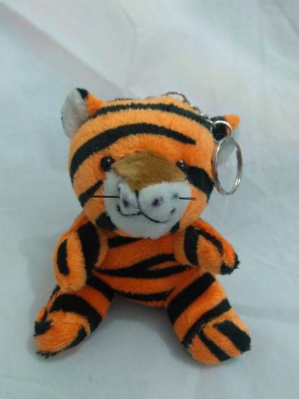Chaveiro Pelucia Tigre Acompanha Mini Cartão