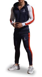 Conjunto John Leopard Delta Track Pants Slim Fit (ajustado)
