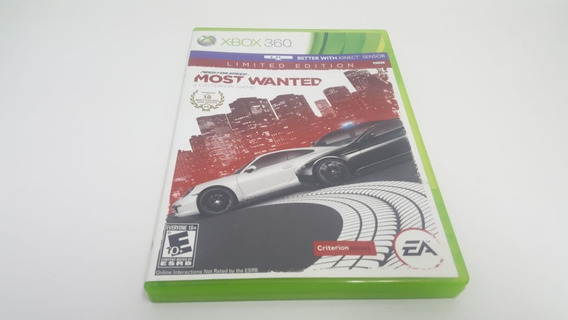 Jogo Need For Speed Most Wanted - Xbox 360 - Original