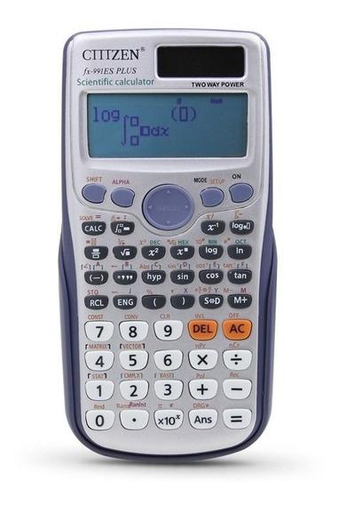 Calculadora Cientìfica Fx-99 Com 417 Funções Es Dual Power