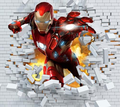 Vinilo Ironman Decorativo -pared- Avengers-vengadores.