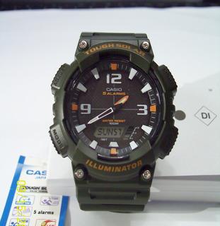 Reloj Casio Solar Aq-s810w-1a2v Nuevo Original