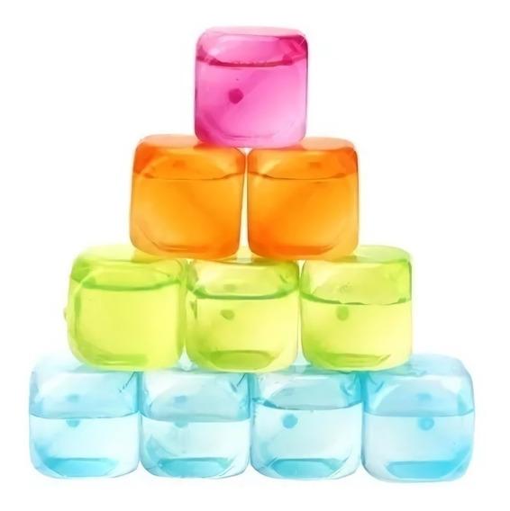 Cubitos Plasticos Hielo Reutilizable , Excelente Calidad !!