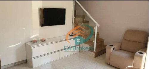 Sobrado Com 2 Dormitórios À Venda, 90 M² Por R$ 570.000,00 - Tatuapé - São Paulo/sp - So0632