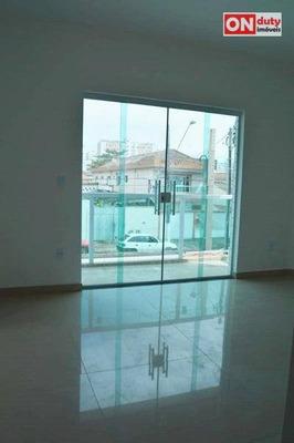 Casa Residencial À Venda, Estuário, Santos. - Ca0454