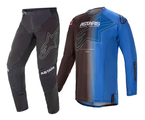 Kit Calça Camisa Offroad Alpinestars Techstar Phantom Mx