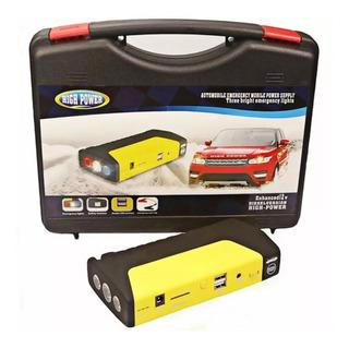 Cargador Baterias Autos Automotriz Arrancador 50800mah Porta