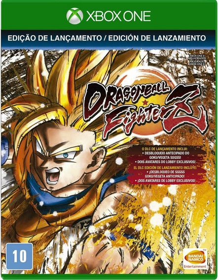 Dragon Ball Fighterz Xbox One Midia Física Novo Lacrado