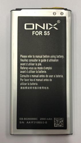 Imagen 1 de 1 de Bateria Samsung S5  G900  Onix
