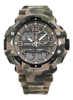 Reloj Mistral Ana -digi Camuflado M Gadg13614 Agente Oficial