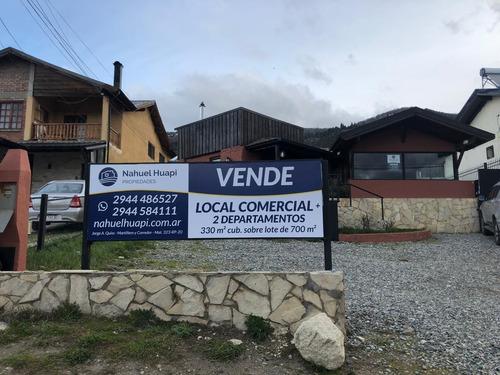 Venta Local Comercial + 2 Deptos Av. Pioneros Km 4 Bariloche