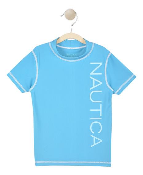 Playera Niño Azul Nautica N430c08e
