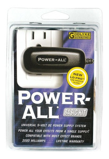 Power All Basic Kit Eliminador De Corriente + Daisy Chain 5
