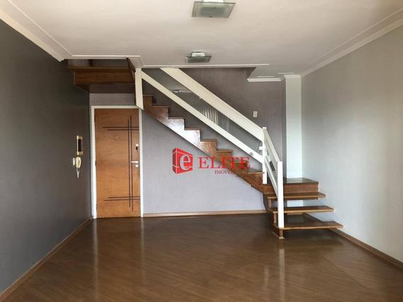 Cobertura Com 3 Dormitórios À Venda, 147 M² Por R$ 630.000,00 - Jardim América - São José Dos Campos/sp - Co0071