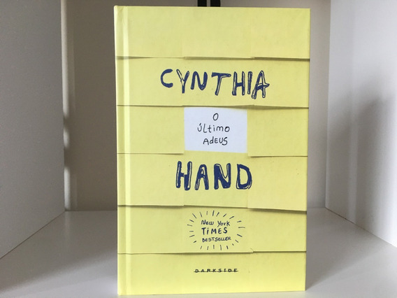 Livro Cynthia Hand O Último Adeus - Darkside Books - C. Dura