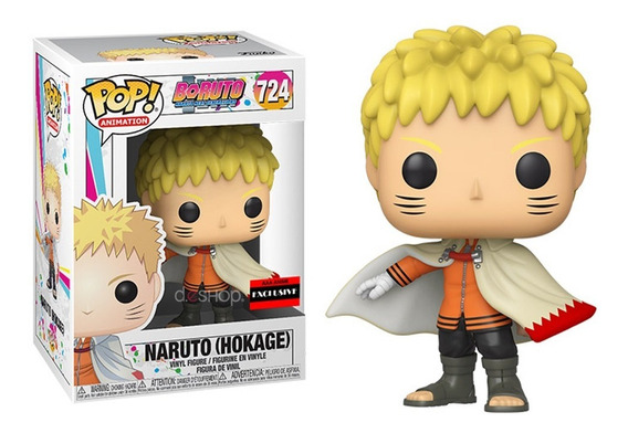 Funko Pop Boruto Naruto Hokage Aaa Exclusive Original