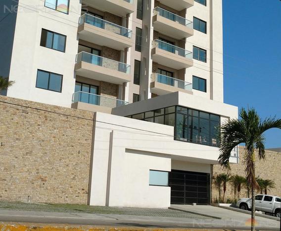 Depto. En Renta En Tampico Torre 1010 Faja De Oro
