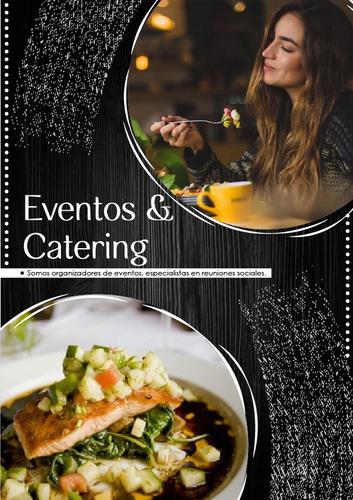 Imagen 1 de 10 de Servicio De Catering , Buffets  Y Eventos