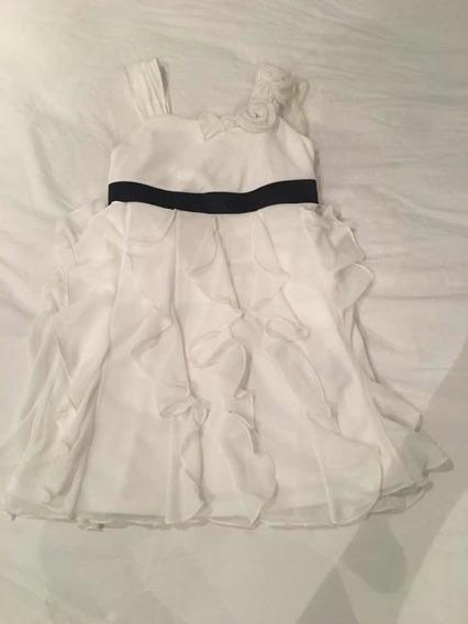 Vestido De Festa Branco Infantil