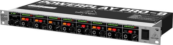 Ha8000 Behringer Amplificador Power Play Som Brasil Dj