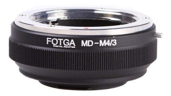 Adaptador Lente Minolta Md M4/3 Panasonic Gh4 Gh5 Blackmagic