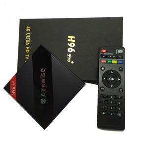 Tvbox H96 Pro+ Alfawise 3gb/32rom Configuração Exclusiva!