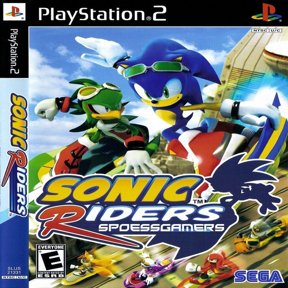 Sonic Riders Ps2 Desbloqueado Patch