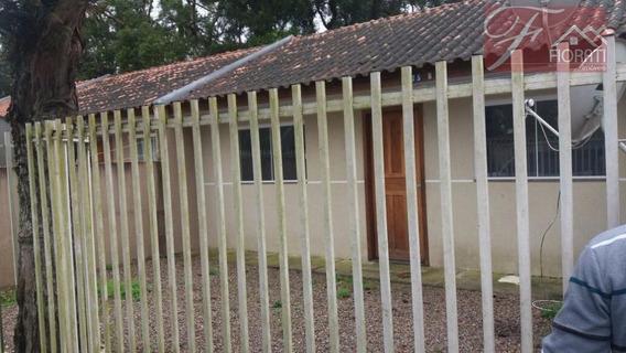Casa Proximo Ao 1o. Pedágio Da Br 277. - Ca0165