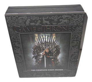 Game Of Thrones Juego De Tronos Primer Temporada Blu Ray +++