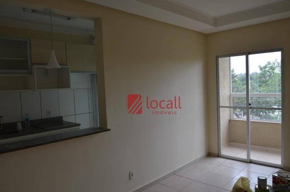 Apartamento Com 2 Dormitórios À Venda, 50 M² Por R$ 280.000 - Jardim Fuscaldo - São José Do Rio Preto/sp - Ap1534