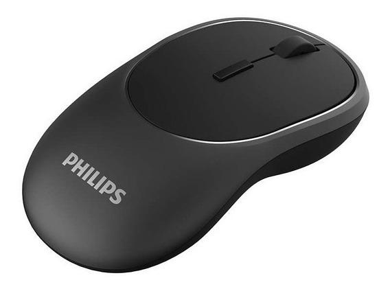 Mouse Óptico S/fio Recarregável Wireless Usb 2.4ghz Philips