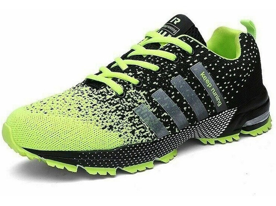 Tênis Masculino Corrida Caminhada Esporte Treino Keep Runing