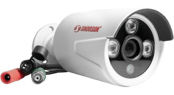 Cámara Bullet Metal 720p Sinovision 1mp Waterproof Led Array