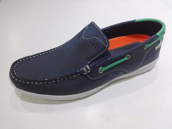 Zapato Pataugas Art Nicanor Color Azul Y Sabane