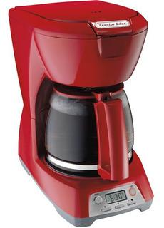 Cafetera Proctor Silex Programable De 12 Tazas Rojo 43673