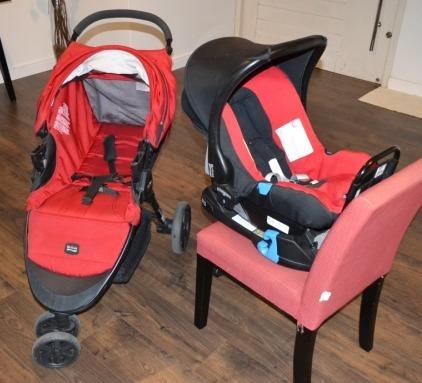 Carrinho + Bebê Conforto + Engate Rápido - Britax