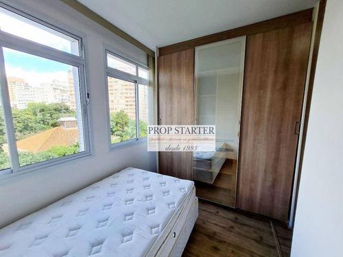 Imagem 1 de 23 de Kitnet Com 1 Dormitório Para Alugar, 29 M² Por R$ 1.400,00/mês - Vila Buarque - São Paulo/sp - Kn0021