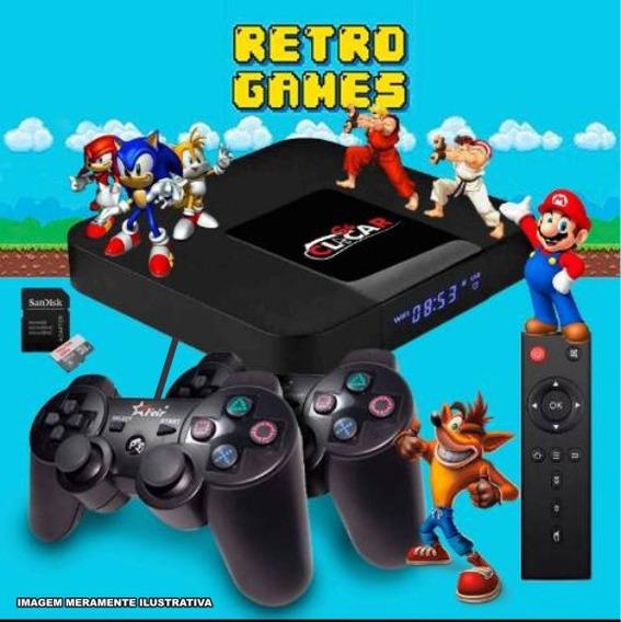 Video Game Retro 8.500 Jogos 2 Contr. Usb Estilo Ps3