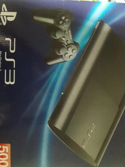 Ps3 Super Slim Vai Com 7 Jogos 1 Controle Cabo Hdmi E Outros