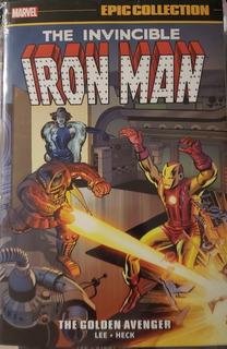 Marvel - Iron Man Epic Collection 1 / Golden Avenger