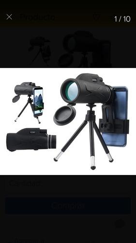 Imagen 1 de 10 de Monocular Telescopio 12 X 50 Binocular Hd Impermeable