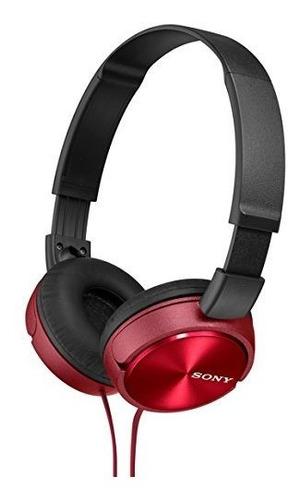 Sony Auriculares Plegables Mdr-zx310 R - Rojo Metalizado