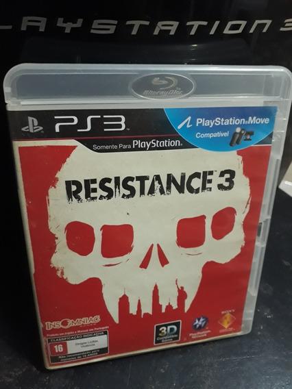 Jogos Ps3 Barato/ Resistance 3/ Midia Física
